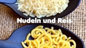 Lebensmittel Profis Nudeln und Reis