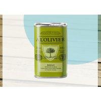 Olivenöl mit Basilikum, A L'Olivier